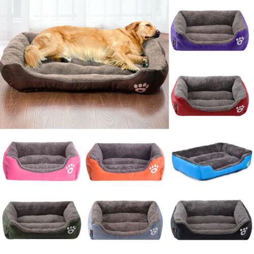 Warm Pet Large Dog Cat Bed Cushion Kennel Mat Sleeping Blank