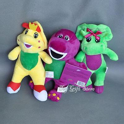 Baby Bop Plush (Cute 3PCS Barney & Friend Baby Bop BJ Plush Doll Toy 7
