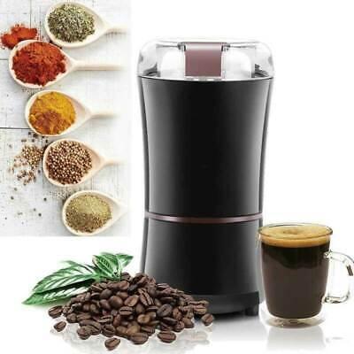 Elektrische Kaffemühle Edelstahl Kaffeemühle Scheibenmahlwerk Espressomühl Kaffeemühle