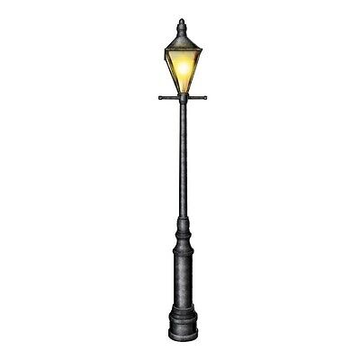 20's GATSBY Jointed 6' Foot LAMPPOST Christmas Party Decoration MARDI GRAS ](Mardis Gras Decorations)