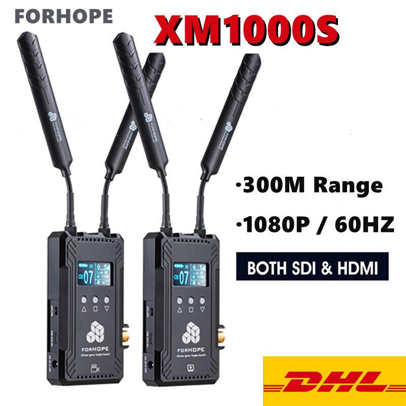 DHL FORHOPE XM1000S 300m Dual SDI HDMI Wireless Transmission System 1080P TX+RX