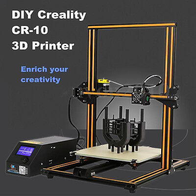 Creality CR-10 FDM 3D Printer (300x300x400mm Build Volume) - Ships from USA