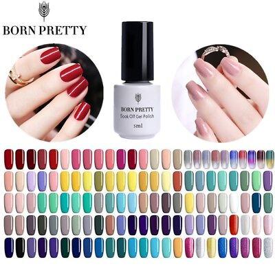 Polish Decorations (103Colors 5ml UV Gel Nail Polish Soak off Manicure Gel Varnish Decor BORN)