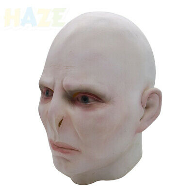 Voldemort Halloween Mask (Harry Potter Lord Voldemort Cosplay Latex Mask Costume Halloween)