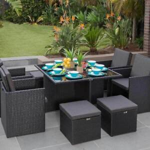 Outdoor Living Seaside 9 Piece Dining Setting (New)