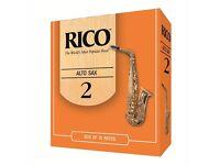 Rico Alto Saxophone Reed Box of 10