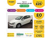 Volkswagen Golf 1.6TDI ( 90ps ) 2010MY S FROM £25 PER WEEK!