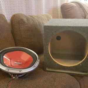 "Sony Xplod 12"" subwoofer in ported box"