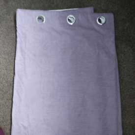 Lilac curtains