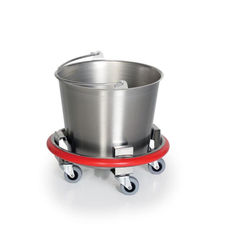 Stainless Steel Kick Bucket - 12qt 1 ea