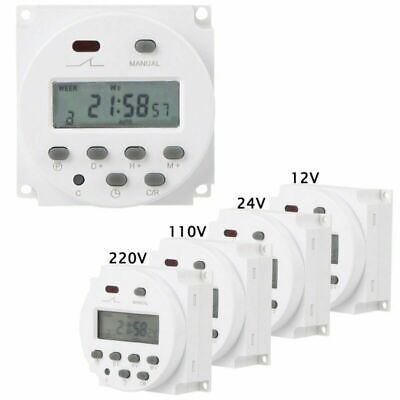 Lcd Digital Programmable Timer Counter Time Relay Switch Dc 1224v Ac 110220v