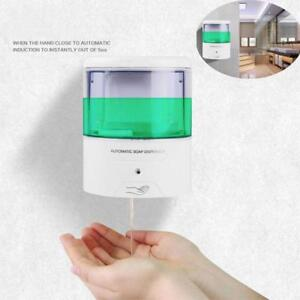 600ml-ABS-Plastic-Wall-Mount-Automatic-IR-Sensor-Touch-free-Soap-Dispenser - FREE SHIPPING