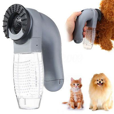 Cat Dog Pet Hair Fur Remover Shed Grooming Brush Comb Vacuum Cleaner