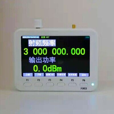 Sg3000 Pro Rf Signal Generator 25mhz-3ghz W Frequency Sweep Hopping Ramp Pulse