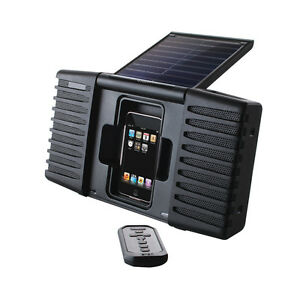 Eton Soulra Splashproof Portable iPhone/iPod Speaker Dock
