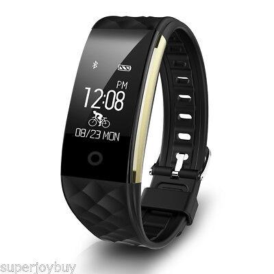 Bluetooth Reloj podómetro Pulsera Deportes Actividad Inteligente Ritmo Cardiaco