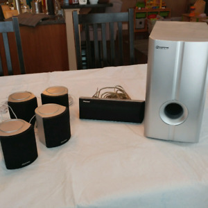 Pioneer surround speakers