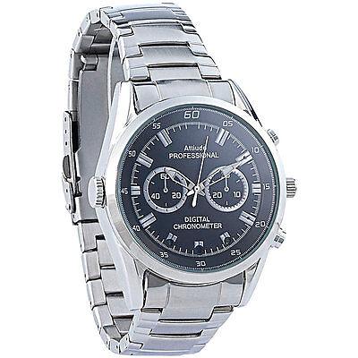 8 Gb Spy Watch (Spy Watch: HD-Kamera-Uhr VA-720 mit 720p-HD-Video interpoliert, 3 IR-LEDs, 8 GB)