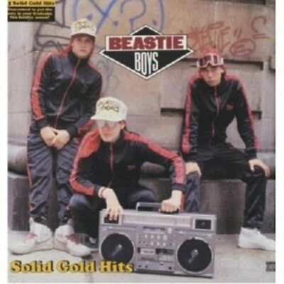 THE BEASTIE BOYS-BEST OF: SOLID GOLD HITS - 2 VINYL LP 15 TRACKS HIPHOP/RAP