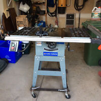 """King Canada 10"""" contractors table saw"""