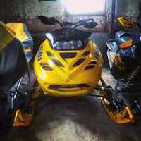 Ski doo mxz 700 **new price** 2250$