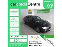BLACK BMW 3 SERIES 2.0 320D M SPORT ***FROM £80 PER WEEK***