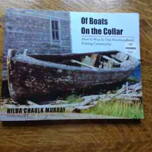 Of Boats on the Collar by Hilda Chaulk Murray[Signed]