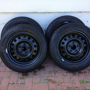 4 Hankook Winter tires with Rims for $350