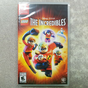Lego The Incredibles Switch Game - NEW