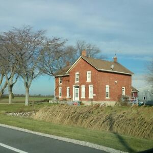 Farm house for rent with  2 car garage