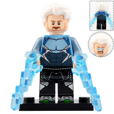 Quicksilver (Pietro) - Marvel Legends Lego Moc Minifigure, Figure For Kids
