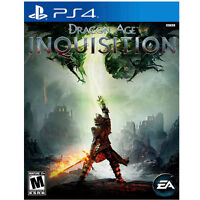 Dragons Age: Inquisition for PS4.  $30 OBO Mint Condition