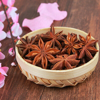 50g/Bag Chinese Kitchen Cooking Food Hot Pot Seasoning Spice Star Anise Aniseed~