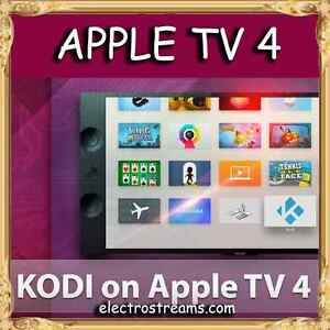 ★Apple TV 4th Gen (32 GB)★ - Fully Programmed with KODI - IPTV