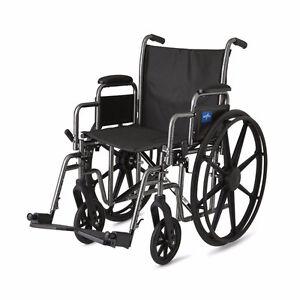 """Chaise Roulante 18"""" Medline, K1, (NEUVE/LIVRAISON GRATUITE) 259$"""