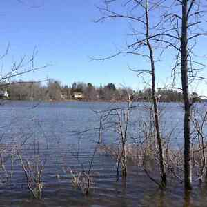 Affordable waterfront lot with great view