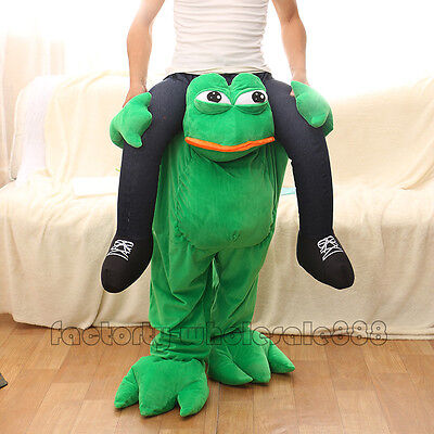 Ride On Animal frogs Mascot Fancy dress outfit for adult HOT - Animal Outfits For Adults