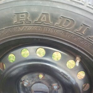 GT-RADIAL TIRES P215/70  R16