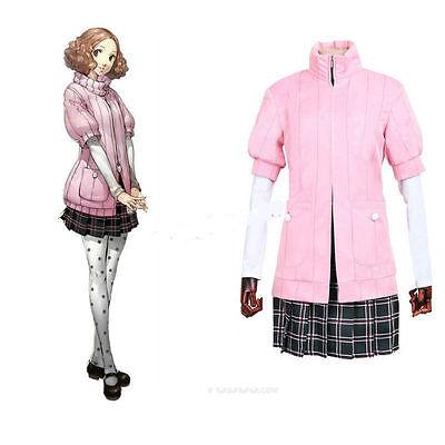 Halloween Dress Up Games Anime (Cosplay Costume Persona 5 Haru Okumura Uniform Dress Halloween Anime)