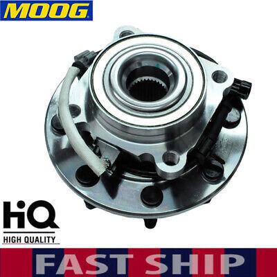 MOOG Front Wheel Hubs & Bearings for Chevy Silverado 2500 HD GMC Sierra 4WD