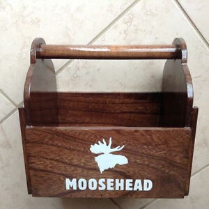 Moosehead Wooden Caddy
