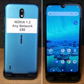 Nokia 1.3 - any network - £50