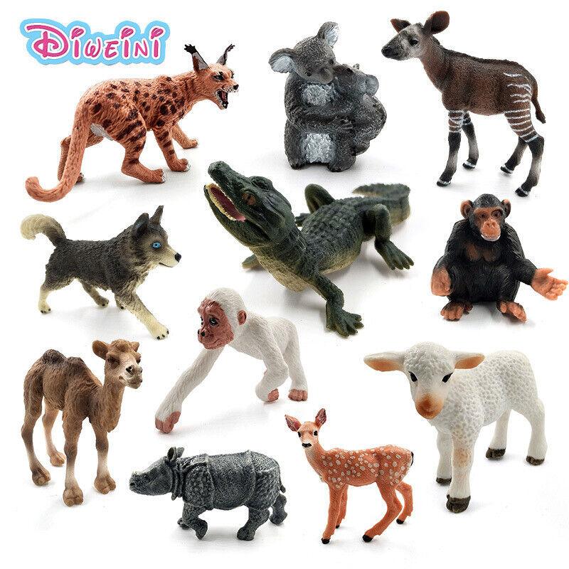 Süße Tier Tierfiguren Actionfiguren Sammelfigur Figuren Spielzeuge Geschenk