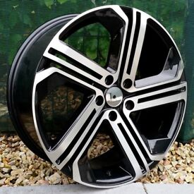 """19"""" R400 Style alloy wheels for VW Audi Seat 5x112 ETC"""