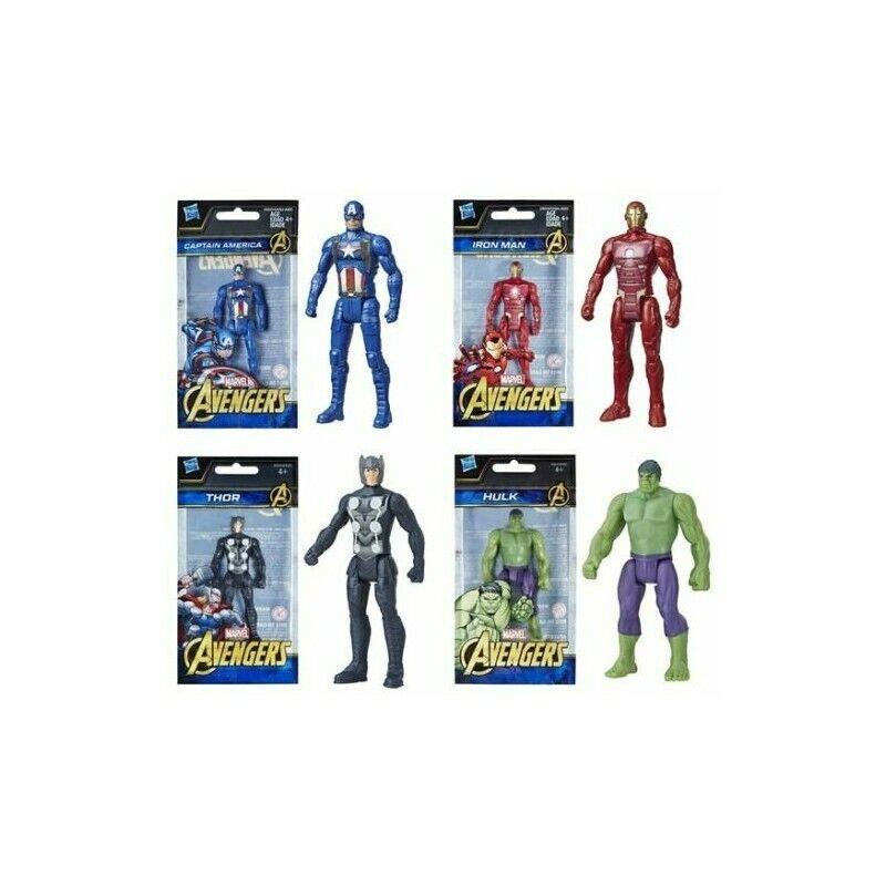 Avengers Figuren Hulk - Iron Man - Thor - Captain America 10 cm Groß NEU