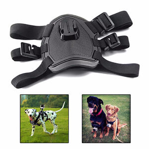 Adjustable Hound Dog Fetch Harness Chest Strap  Mount For GoPro