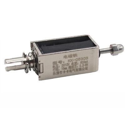 Dc 12v Stroke Solenoid Electromagnet Electric Magnet Push-pull Actuator Us Stock