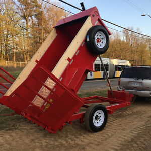 DUMP TRAILER NEW CHEROKEE 5 1/2 FT X 10 1/2 FT MODEL
