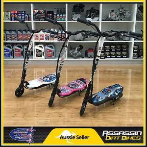 ASSASSIN USA 120WATT 120W KIDS ELECTRIC SCOOTER MOPED RAZOR GOPED Caringbah Sutherland Area Preview