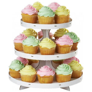 Cupcake Stand-NEW-Birthday-Shower-Party- Decorate Your Own-CHEAP